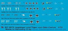 1/72 ep 2975 Jagdtiger der s. Pz. Jäg. Abt 512 und Tiger der s. Pz. Abt 502 von