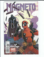 Marvel Magneto #1 1 Exclusive Hastings Variant cover Deadpool