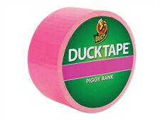 Coloured Duck Duct Gaffer Waterproof Tape PIGGY BANK Repair Craft DIY Use