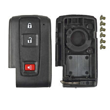 2+1 Panic 3 Buttons Remote Smart Key Case Shell Fob For Toyota Prius 2004-2009