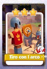 Coin Master cards carte rare Tiro Con L'arco