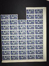 AMG VG Italy Venezia Giulia Espresso E1 10l Stamp Sheet Of 46