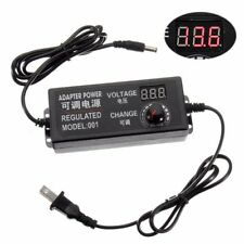 9-24V 3A Speed Control Volt AC/DC Adjustable Power Adapter Supply Display