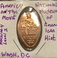 America On The Move-National Museum Of American History-Pressed Penny
