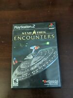 Star Trek: Encounters (Sony PlayStation 2, 2006) PS2 Complete
