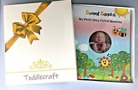 Baby Memory Book Photo Album Journal Boy & Girl Infant to 5 Diary with Gift Box