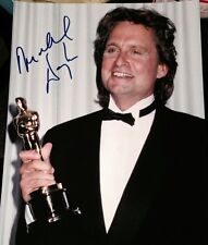 MICHAEL DOUGLAS SIGNED AUTOGRAPH CLASSIC OSCARS TROPHY SMILE 11x14 PHOTO COA