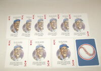 Ernie Banks - Chicago Cubs - Vintage Baseball Playing Cards - 10 Card Lot