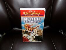 Herbie Goes Bananas (VHS, 2000, The Love Bug Collection) EUC