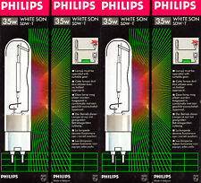 PHILIPS Natriumdampf Hochdrucklampe White Son SDW-T 35 Watt PG12-1 Lampe NEU