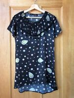 Romance Was Born   Oysters and Pearls Mini Dress with Pierrot Collar sz Small