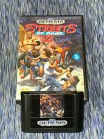 Streets of Rage 2 (Sega Genesis, 1992) Cartridge is in Great Condition