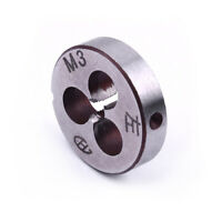 Alloy tool steel HSS 3mm x 0.5 Metric Left hand thread Die M3 * 0.5 mm Pitch