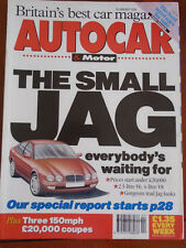 Autocar 26/1/94 Fiat Coupe vs Rover 220 Turbo Coupe vs Honda Prelude 2.2i VTEC