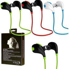 Lot 2 Portable Wireless Bluetooth Headset Stereo Handfree For iPhone Samsung