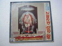 SRI SAI DARBAR C.RAMCHANDRA 1968 RARE LP RECORD india devotional marathi vg+