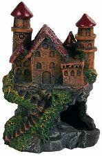 Old Castle Ruin with Steps & Cave Aquarium Ornament Fish Tank Decoration