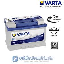 BATTERIA VARTA N70 START&STOP EFB 70AH 760A di spunto 278x175x190 570500076 BLUE