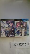 Lot: Record of Agarest War 2 + Zero Limited Edition (Playstation 3 PS3) NEW US