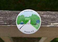 """Magnetic Hill Moncton N.B. 2 1/4"""" Round Metal Pin Pinback Button"""