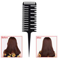 1X peigne de coiffure de forme coccyx, peigne de style salon de coiffur·