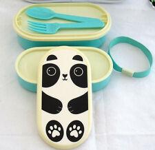 KAWAII Bento Box, Scatola Pranzo Panda, Panda Pic-Nic Box, Bento Snack Pot, AIKO PANDA