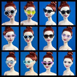 Barbie Fashionistas Choose Pick Set 28 Sunglasses Glasses Ken Barbie 1959