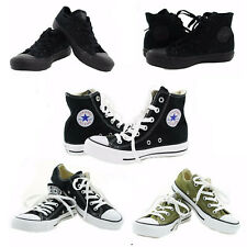 Converse Chucks All Star Chuck Taylor Canvas Casual Fashion Low / High Top Shoes