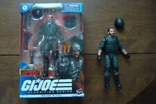 """G.I. Joe Classified Major Bludd (Overseas Box) & (Loose) Alvin """"Breaker"""" Kibbey"""