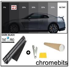 Pro Anti-Kratzer Auto Transporter Scheibentönung Folie Tönung Dark schwarz