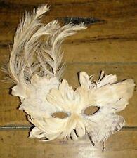 masque loup vénitien plume déguisement mascarade femme homme carnaval dentelle