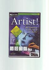 ARTIST! - DRAWING COURSE ART CLASSES PC SOFTWARE - FAST POST - NEW & SEALED