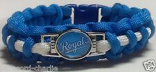 Kansas City Royals Handmade Paracord Bracelet OR Lanyard OR Deluxe Key Chain