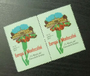 Poster Stamps - Cinderella - Italy Europe in Montecatini 1962 Tourism A36