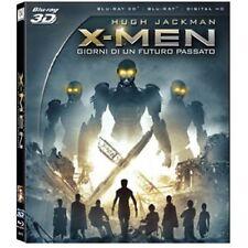 X-Men Giorni di un Futuro Passato 3D Slipcase ( Blu-Ray 3D + Blu-Ray ) NUOVO