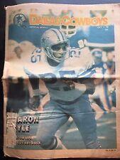 """"""" NFL Dallas Cowboys Official Weekly Magazine October, 7, 1978; Vol. 4, No. 17"""