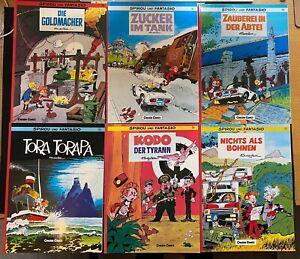 Spirou und Fantasio - 6 Carlsen Comics - Nr.  18, 19, 20, 21, 26,27 -  gebraucht