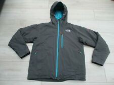 The North Face Mens Makalu Primaloft Serie Summit HyVent Impermeable Gris M