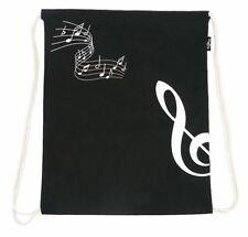 Drawstring Treble Clef Music Bag - Music Gift - Musical Shopping Bag