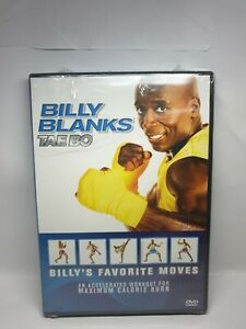 BILLY BANKS TAE BO DVD MAXIMUM CALORIE WORKOUT FITNESS BRAND NEW AND SEALED