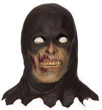 Mens Executioner Mask Phantom Evil Scary Horror Halloween Fancy Dress Costume