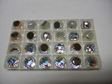 6 swarovski crystal 3/4 flatback disco balls,16mm crystal AB CAL VZ #4861