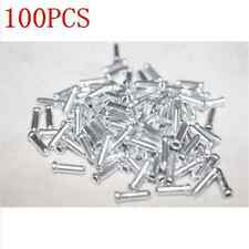 50X Bike Bicycle Aluminum Brake Shifter Inner Cable Tips Wire End Cap Crimps BA