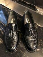 Florsheim Imperial CAIMAN Alligator Leather Men's Dress Shoes - Great Condition!