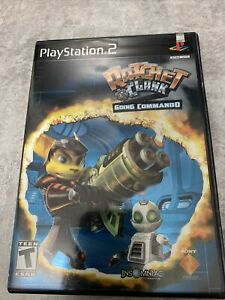 Ratchet and Clank- Going Commando (PS2) W/ Rare Manual Sleeve And Reg Card