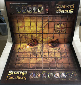 Game Parts Pieces Stratego Lord of the Rings Milton Bradley 2004 Gameboard Only