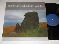 LP/MUSIQUES DE L`ILE DE PAQUES/ANTHOLOGIE DE LA MUSIQUE DES PEUPLES/AMP 2908