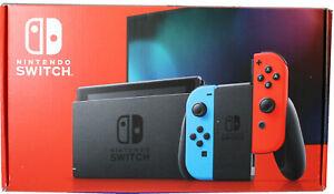Nintendo Switch Konsole neon blau rot