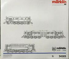 MARKLIN HO 34203 DELTA DRG SPECIAL 3 DIESEL ENGINE SET - NEW