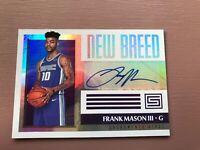 Frank Mason III - Sacramenti Kings Auto - Rookie Card